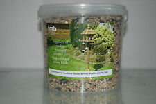 FMB Premium Sunflower Hearts & Wild Bird Seed Mix 5 ltr Tub Approx 7000g