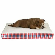 Orthopedic Dog Bed with Memory Foam and Sherpa Top – Removable Machine Washab.