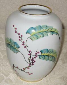 Vintage ROSENTHAL KPM Porcelain Vase KRISTER - Made in Germany - Magnificent
