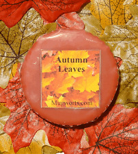 Autumn Leaves Wax Tart Melt, for use in oil burner, highly scented, Halloween