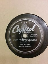 JERRY COLONNA - ..Wyoming & When Rosie Ricoola Do ... - Capitol - 78 RPM V+