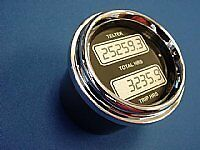 Teltek Engine Hour Meter dual display for Any Semi,Truck Car or other Auto,