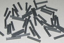 LEGO LOT OF 50 NEW DARK BLUISH GREY TECHNIC AXLE 4 WITH STOP RODS PIECES
