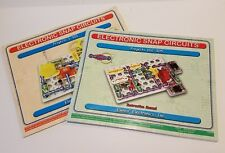 Elenco Electronic Snap Circuits Projects 1 -101 AND 102-305 Instruction Manuals
