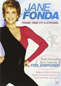 Jane Fonda: Prime Time Fit and Strong [DVD][Region 2]