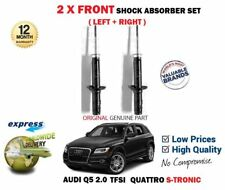 FOR AUDI Q5 2.0 TFSI QUATTRO S TRONIC 2008-> 2X FRONT SHOCK ABSORBER SHOCKER SET