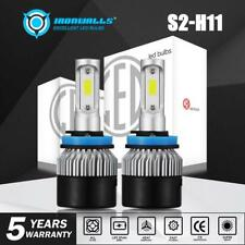 Cree LED Headlight Kit H8 H9 H11 1320W 198000LM 6000K Low Beam Fog Bulb HID 2018