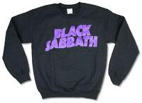 Black Sabbath Purple Logo Classic Crew Neck Sweatshirt New Official Band Merch
