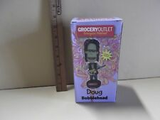 "GROCERY OUTLET 2012 Limited Edition Doug w/Guitar on Back 6""in Bobblehead Figure"