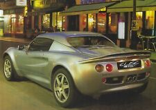 Lotus Elise 111S 1.8 VVC K Series Specification Sheet / Brochure Circa 1998