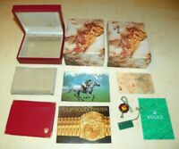 Original Rolex Box u Booklet Set - Lady Datejust / Medium Modelle - Ref 14.00.02