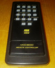 BSR MCD 8000 Compact Disc Changer Remote Control