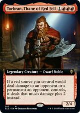 MTG Torbran, Thane of Red Fell Extended Art Rare - Throne of Eldraine - IN HAND