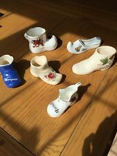 5x Assorted China Boots And 1 Slipper