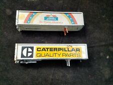 "2 Vintage WINROSS 7-1/4"" Truck Trailers Caterpillar & Howard Johnson's"