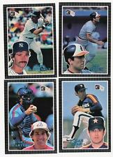 1985 Donruss Action All Stars 60-card Baseball Set  Nolan Ryan  Don Mattingly