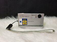 Sony Cyber-shot DSC-T9 6.0MP Digital Camera - Silver