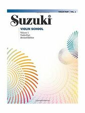 Suzuki Violin School: Violin Part Vol. 1 Free Shipping