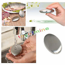 1pc Magic Kitchen Removing Garlic Gadget Stainless Steel Deodorize Useful Tools