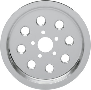 Drag Specialties Chrome Outer Rear Pulley Insert 1201-0540