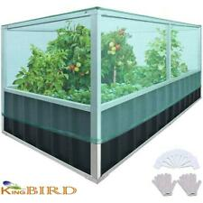 King Bird 68'x36'x27.5' Raised Garden Bed Planter Vegetable Planting Grow Box