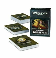 Imperial Fists Data Cards Warhammer 40k Space Marines