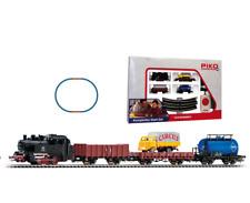 PIKO 57111 Startset Freight Train With Steam Locomotive in H0