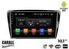 Autoradio Android 8,0 Skoda Octavia 2014 GPS DVD USB SD WI-FI Bluetooth Navigato