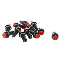 12 x OFF-ON Commutateur de bouton poussoir pour Voiture / Bateau J5W4 T2