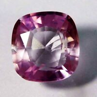 Natural CERTIFIED Cushion Cut 5 Ct Pink Ceylon Sapphire Loose Gemstone