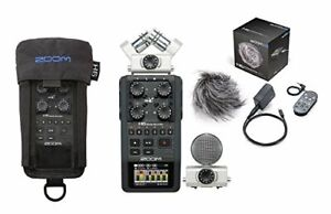 Zoom H6 Six-Track Portable Recorder+PCH-6 Protective Case + APH-6 Accessory pack