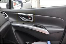 Interior Door Handle Bowl Covers Trim 4pcs for LHD Suzuki S-Cross 2014