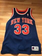 Patrick Ewing 91-92 Champion Jersey New York Knicks Size 40