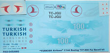 1:144 PAS-Decals #PAS045 - Boeing 737-800 TURKISH airlines 100 -  NEU !