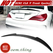 Painted Color V Look Trunk Spoiler For Mercedes BENZ CLA-Class W117 4D Fastback