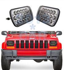 2pcs LED Headlights For 1986-1995 Jeep Wrangler 1984-2001 Cherokee New