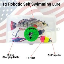 Large Robotic Fishing Lure, Animated Swimbait - Electric Bait - Wobbler - Bass