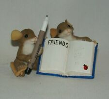 Charming Tails Mice You're A Friend In My Book Friends w/ Marker