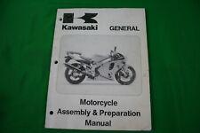 GENUINE USED KAWASAKI GENERAL MOTORCYCLE ASS/PREP MANUAL OEM 99931-1311-01