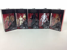 Star Wars: TFA The Black Series 6-Inch Action Figures Wave 1 #1, 2, 3, 4, 5
