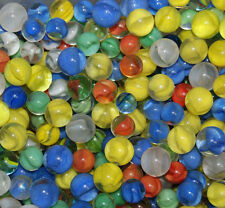 L@@K  Assorted Cats Eye Marbles APPROX 40 Marbles Per lot