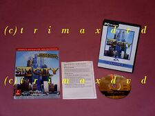 PC _ SIM CITY 3000 & offiz. soluzione libro _ OTTIME CONDIZIONI _ 1000 giochi nel negozio