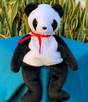 """Beautiful Panda Bear Lovey 8"""" SOFT Plush Stuffed Animal Toy"""