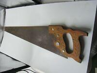 Vintage Disston - 26 Inch Straight Blade - 8 Point