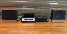 Vintage EPM 80 Sound System LCD Digital Alarm Clock AM/FM Radio Old School Retro