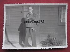 Foto Luftwaffe Offizier mit Dolch 2.WK