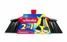 Vileda 2-in-1 Zimmerbesen Classica - ideal für die Aufnahme von Staub und Haaren
