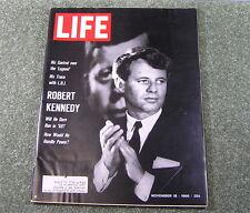 Life Magazine, ROBERT KENNEDY, Nov 18 1966