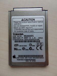 "Toshiba MK2004GAL 20GB 50 Pin CF 4200rpm 1.8"" Festplatte HDD iPod"