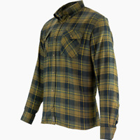 Jack Pyke Mens Flannel Shirt Green - Shooting/ Outdoors/ Countryside/ Smart